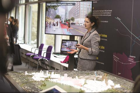 OPDC CEO Victoria Hills highlights the scheme
